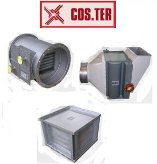 smoke-water heat recovery system for chp plants